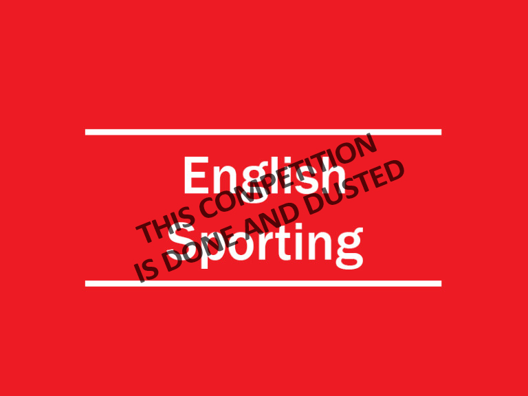 english sporting closed