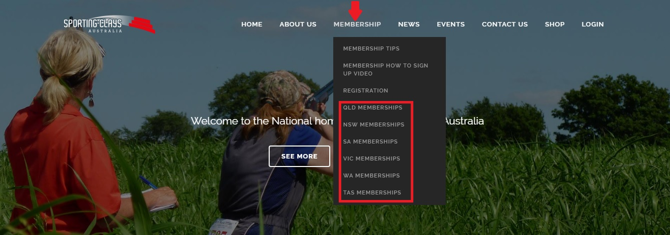 purchasing membership sca site