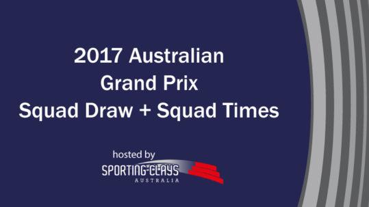 2017 grand prix squad draw and squad times