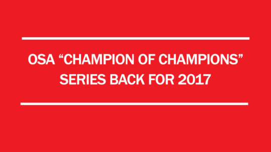 2017 osa champion of championship series