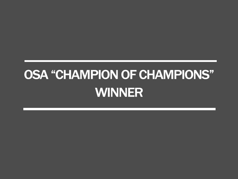 2017 osa champion of championship series winner