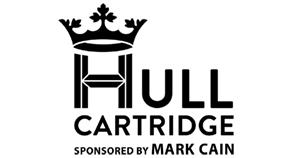 hull cartridge logo mark cain