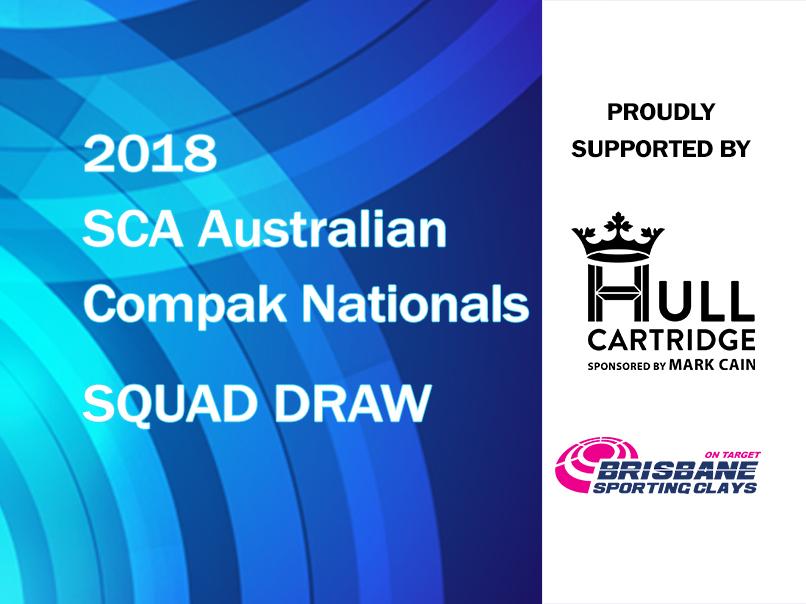 2018 australian compak nationals squad draw