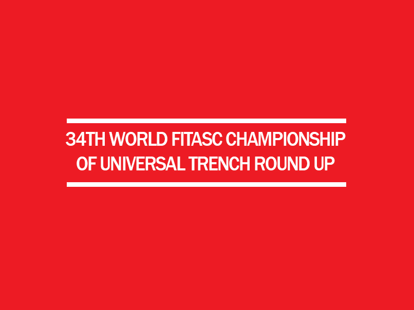 34th world fitasc championship trench