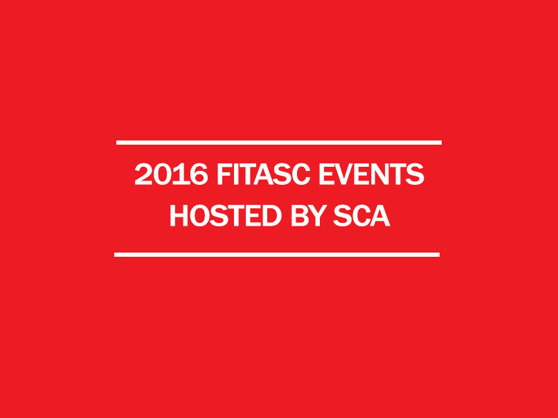 2016 fitasc events hosted by SCA