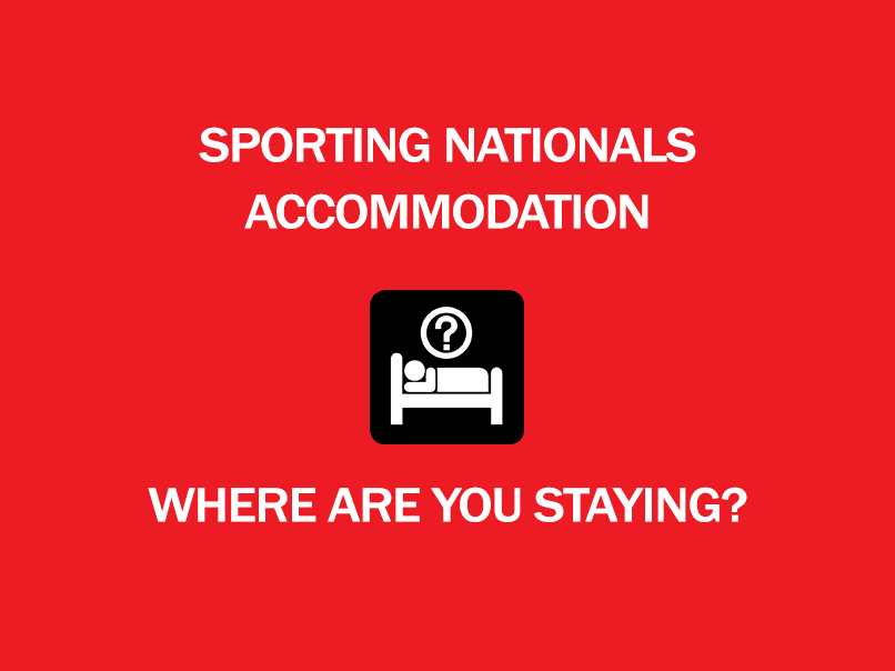 sporting nationals accommodation