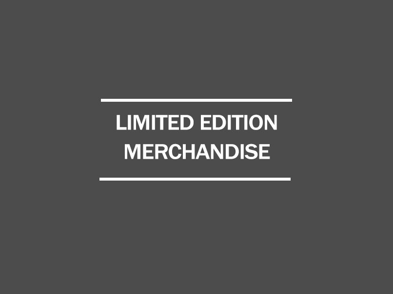 limited edition merchandise
