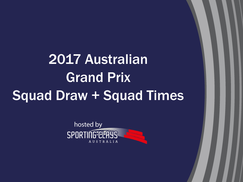 2017 grand prix squad draw and squad times