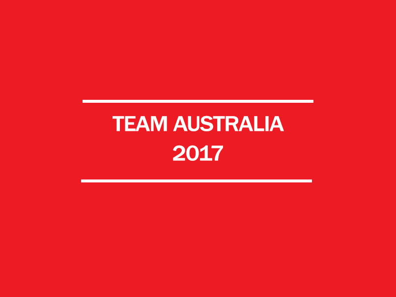 team australia 2017