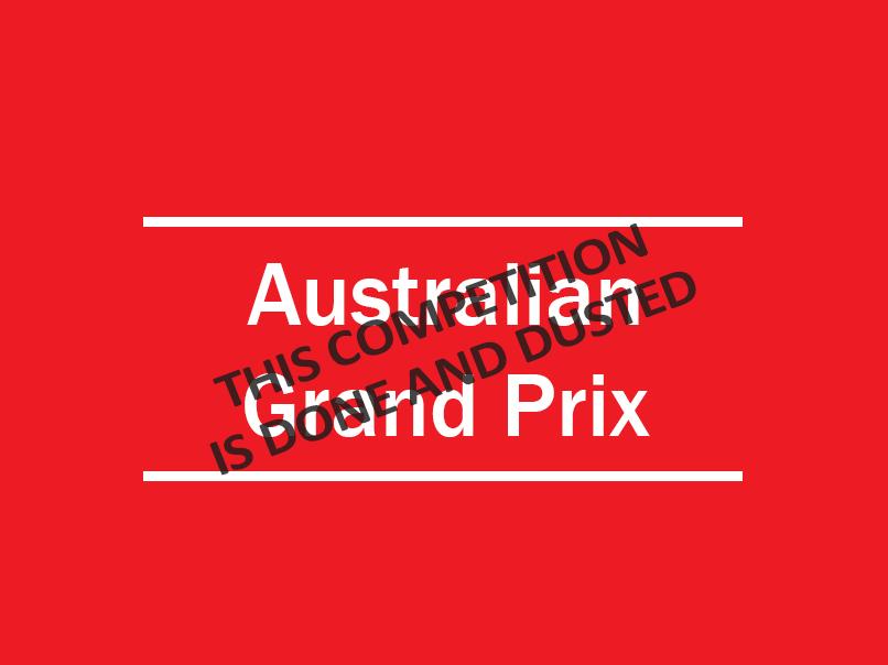 australian grand prix closed