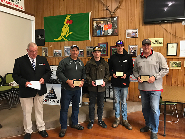 2017 compak nationals open winners