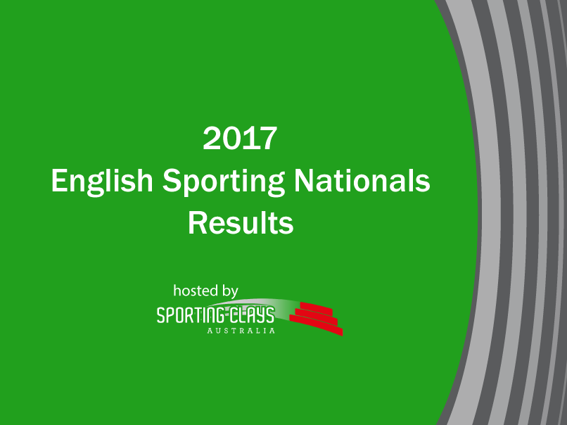2017 english sporting nationals results