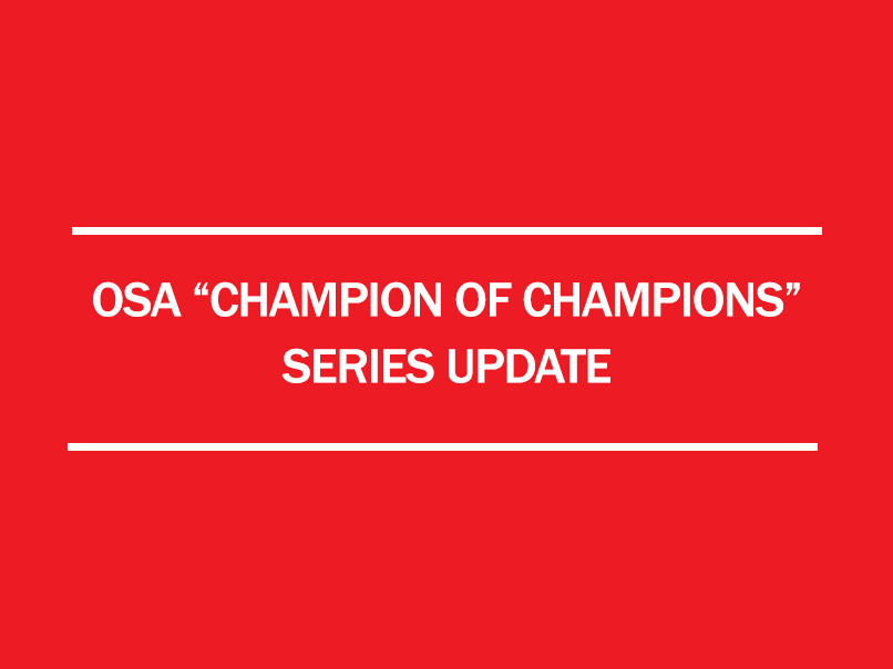 2017 osa champion of championship series update