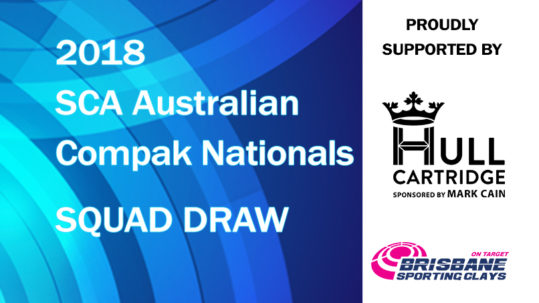 2018 australian compak nationals squad draw