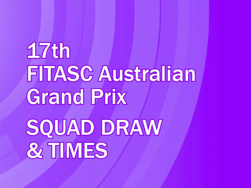 2019 australian grand prix squad draw and times