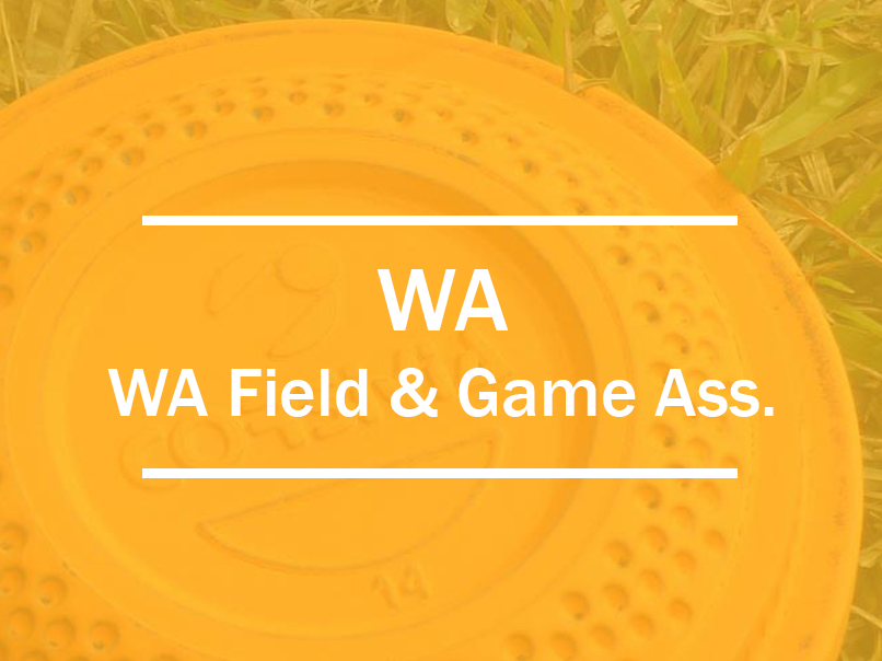 wa field and game association