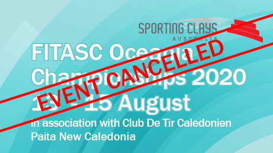 2020 fitasc ocenia championships cancelled