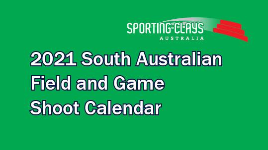 2021 Calendar SAFGA